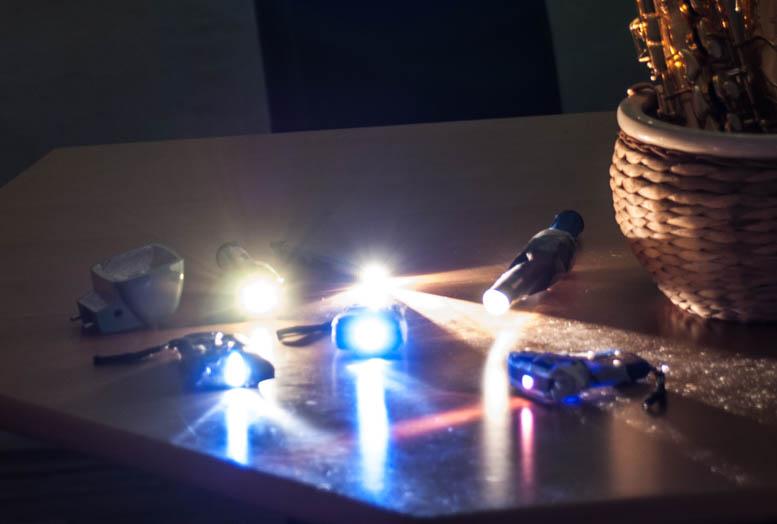 Langzeitbelichtungstutorial mit Taschenlampen und Lightpainting