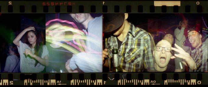 Lomography mit der Lomo Kamera Diana Mini mit blitz
