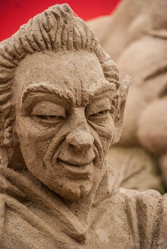 Ein weiteres Detail vom sandskulpturen festival in rügen