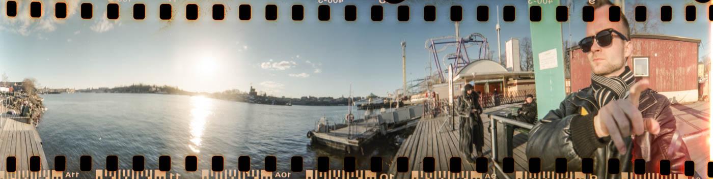 Stockholm panorama am Wodka Museum