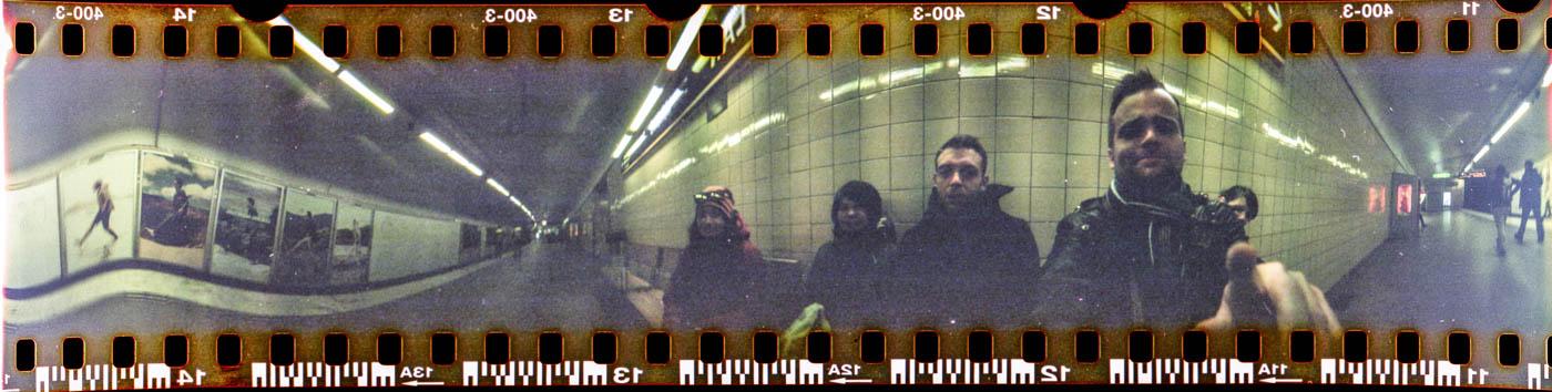 Stockholm Panorama in der Metro