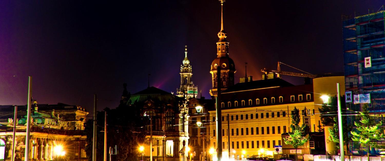 Farben der Nacht in Dresden