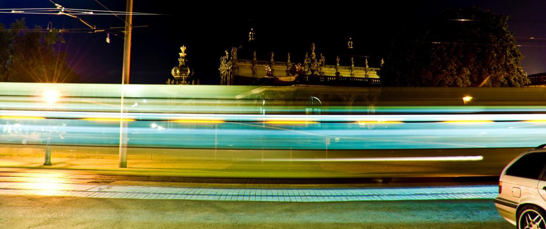 Zwinger - Farben der Nacht in Dresden