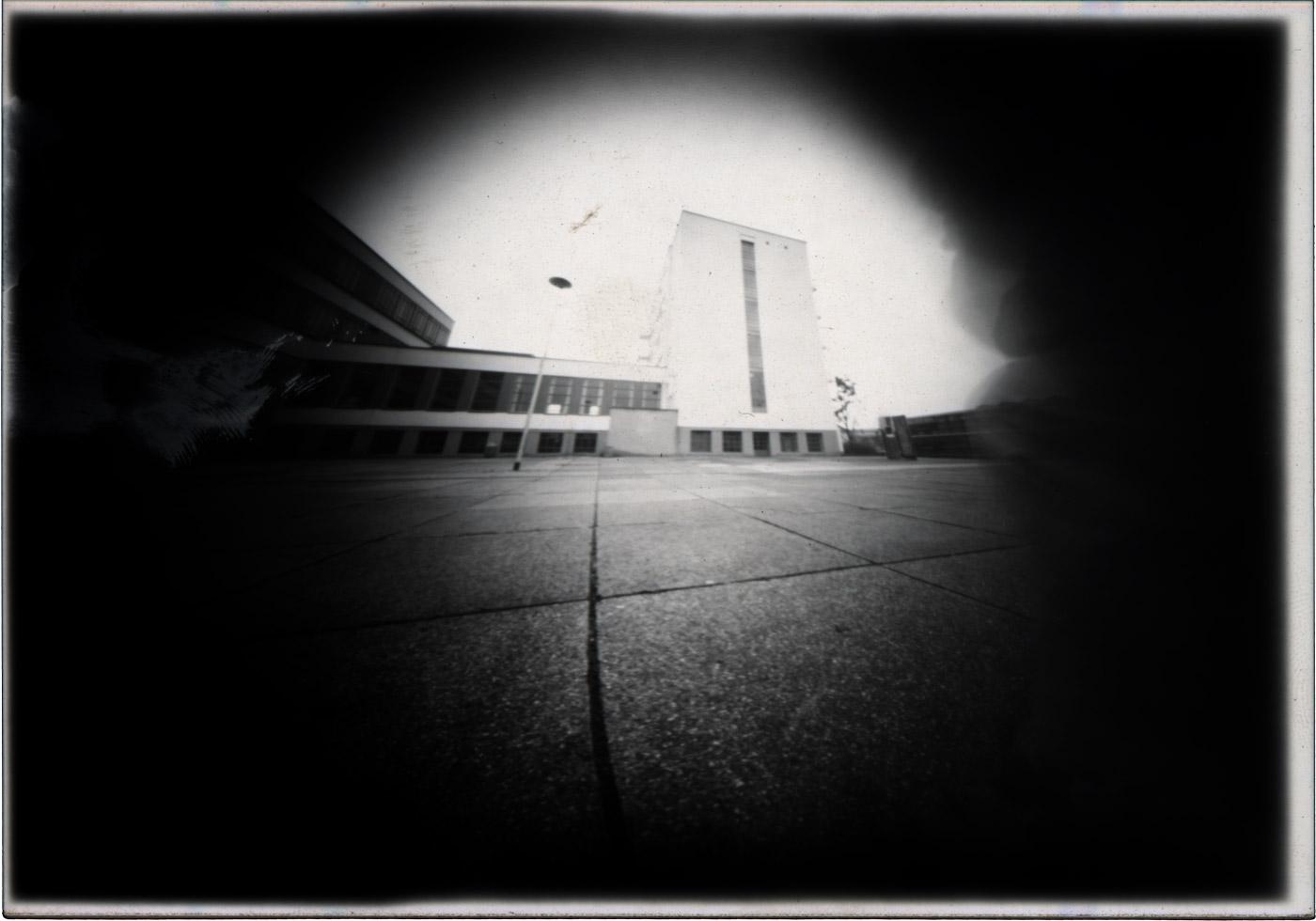 Das Bauhaus in Dessau experimentelle fotografiert