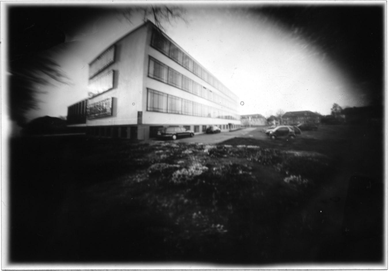 Das Bauhaus Dessau durch die Auge der Camera Obscura