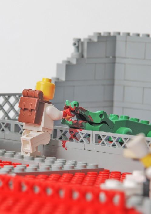 Lego attacks! Fotografie Mensch und Tier
