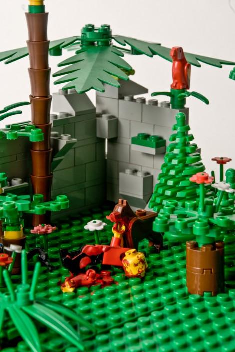 Die Rache der Tiere - Lego Fotografie