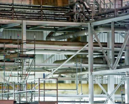 Bitterfeld Wolfen Industriefotografie Detail