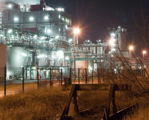 Bitterfeld Wolfen - Industrie Fotografie
