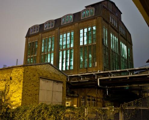 Alter Industriebunker in Dessau