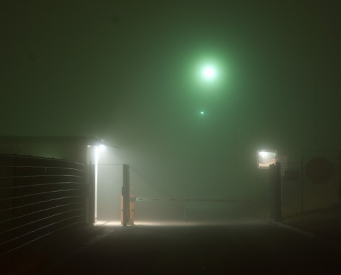 Fotografie - Nebel in der Industrie