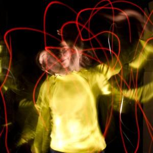 Energie sichtbar machen lightpainting