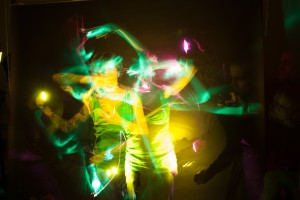 Fotografie im Studio mit farbigen Blitzen