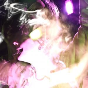 Merhfachbelichtung im dunklem Studio