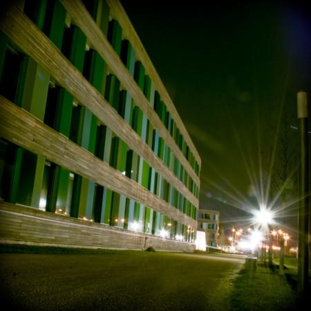 Das UBA als Langzeitbelichtungsfotografie